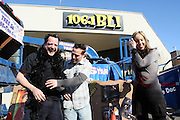 "l to r: Randy Spears, Andrew Applebaum, Dana D. Dinato at Shred Your Ex and Shred Chris Brown CDs and Posters for Pre-Valentines Day Bash held at WBLI Studios in West Babylon, Long Island on February 13, 2009..""Shred Your Ex"" party the day before Valentines Day. Radio Station WBLI has invited members of Rihanna's Fan Club and other fans across the nation to join the pop star's side along with .others who are ""unlucky in love.""."