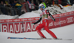 03.01.2015, Bergisel Schanze, Innsbruck, AUT, FIS Ski Sprung Weltcup, 63. Vierschanzentournee, Innsbruck, Qualifikation, im Bild Anders Fannemel (NOR) // Anders Fannemel of Norway reacts after his qualification jump for the 63rd Four Hills Tournament of FIS Ski Jumping World Cup at the Bergisel Schanze in Innsbruck, Austria on 2015/01/03. EXPA Pictures © 2015, PhotoCredit: EXPA/ Jakob Gruber