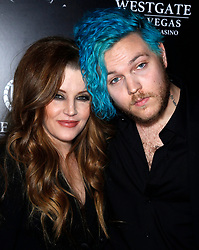 "12 July 2020 - Benjamin Keough, Son of Lisa Marie Presley and Grandson of Elvis Presley, Dead at 27 From Apparent Suicide. File photo: 23 April 2015 - Las Vegas, Nevada - Lisa Marie Presley, Benjamin Keough. Red Carpet Premiere of ""The Elvis Experience"" Musical Production at The Westgate Las Vegas Resort and Casino. (Credit Image: © Mjt/AdMedia via ZUMA Wire)"