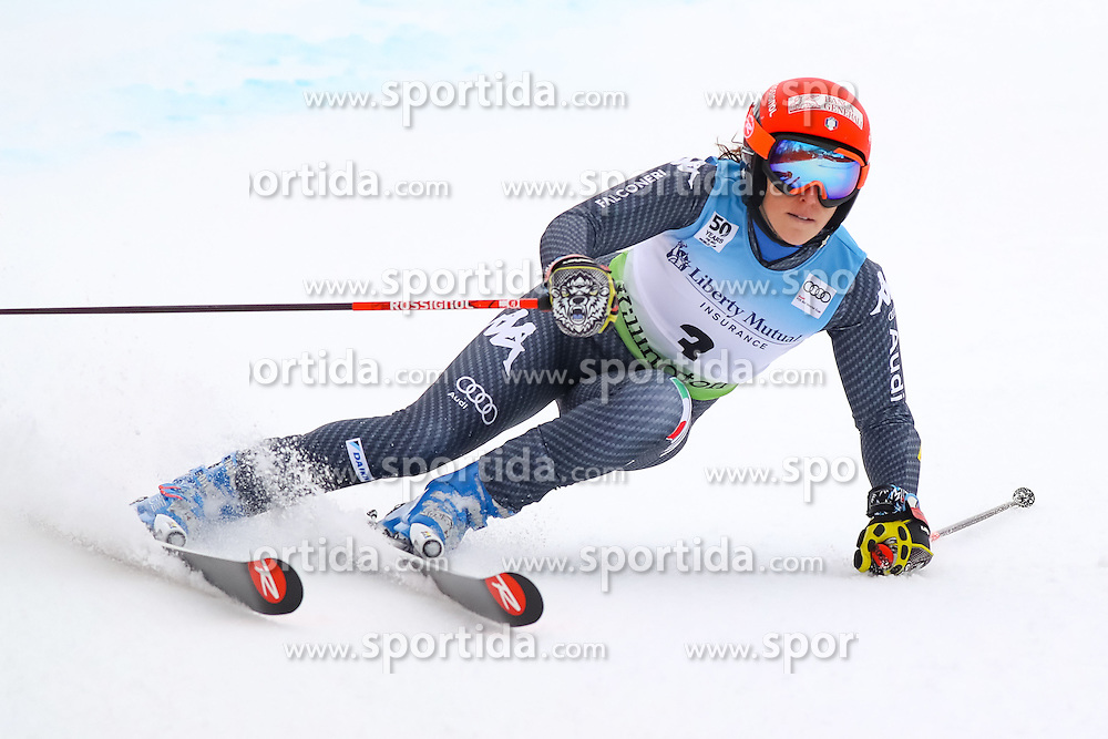 26.11.2016, Killington, USA, FIS Weltcup Ski Alpin, Killington, Riesenslalom, Damen, 1. Lauf, im Bild Federica Brignone (ITA) // Federica Brignone of Italy in action during 1st run of ladies giant slalom of FIS ski alpine world cup at the Killington, Austria on 2016/11/26. EXPA Pictures &copy; 2016, PhotoCredit: EXPA/ SM<br /> <br /> *****ATTENTION - OUT of GER*****