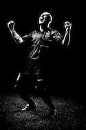 SAO PAULO, SP, BRASIL, 07/01/10, 21h10: O jogador de futebol do Corinthians Alessandro em foto para Nike. (foto: Caio Guatelli)