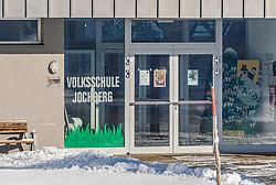 30.01.2020, Jochberg, AUT, Grippewelle in Tirol, Vier Volksschule in Tirol mussten wegen Grippe geschlossen werden. 30 der 48 Schüler der Volksschule Jochberg waren erkrankt. Die Schule soll die gesamte restliche Woche geschlossen bleiben, im Bild Übersicht auf die Volksschule Jochberg // Overview of the elementary school Jochberg during the Flu wave in Tyrol, Four elementary schools in Tyrol had to be closed due to flu. 30 of the 48 students at the Jochberg primary school were ill. The school should remain closed for the rest of the week. Jochberg, Austria on 2020/01/30. EXPA Pictures © 2020, PhotoCredit: EXPA/ Stefan Adelsberger