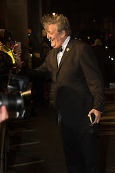 Photo Must Be Credited ©Alpha Press<br /> Stephen Fry arrives at the EE British Academy Film Awards after party dinner at the Grosvenor House Hotel in London.