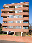 Rosemount, a purpose-built development constructed in 1982 by local builder Roger Halfyard, Hamilton Gardens, Felixstowe, Suffolk, England