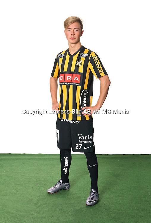 Joel Andersson<br /> Helfigur<br /> @Leverans<br /> Allsvenskan 2016<br /> Fotboll