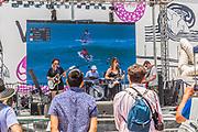 Band Playing at the Vans US Open of Surfing Competition
