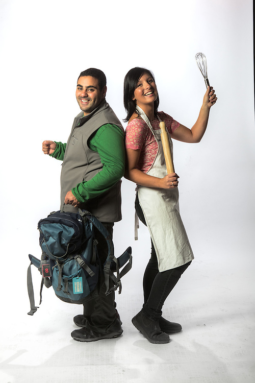 TV Contestants, Mohammed 'Mo' Elleissy, amazing race contestant &amp; Dani Venn - masterchef contestant. Pic By Craig Sillitoe CSZ/The Sunday Age.21/03/2012  Pic By Craig Sillitoe CSZ / The Sunday Age melbourne photographers, commercial photographers, industrial photographers, corporate photographer, architectural photographers, This photograph can be used for non commercial uses with attribution. Credit: Craig Sillitoe Photography / http://www.csillitoe.com<br />