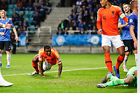 09-09-2019: Voetbal: Estland v Nederland: Tallinn<br /> Kwalificatieronde EK 2020<br /> <br /> Georginio Wijnaldum of The Netherlands and Virgil van Dijk of The Netherlands<br /> <br /> Foto: Dijks Fotografie / Henk Jan Dijks<br /> <br /> Foto: Henk Jan Dijks