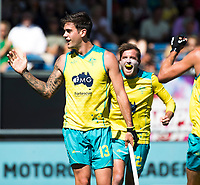 BREDA - Blake Govers (Aus) scoort 1-0.  Australia-India (1-1), finale Rabobank Champions Trophy 2018. Australia wint shoot outs.  COPYRIGHT  KOEN SUYK