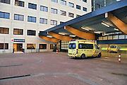 Nederland, Nijmegen, 14-12-2011De ingang van de nieuwe seh van het umc radboud ziekenhuis.Foto: Flip Franssen