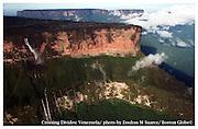 Canaima, Venezuela 030405   Waterfalls early morning at Canaima at Roraima National Park in southern Venezuela. (Essdras M Suarez/ Globe Staff)