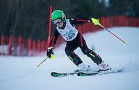 Tony Buttinger memorial slalom U12's with Gunstock Ski Club. <br /> ©2017 Karen Bobotas Photographer