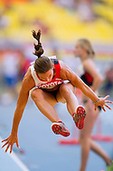 Ellen Sprunger from Switzerland competes in women's long jump while heptathlon during the 14th IAAF World Athletics Championships at the Luzhniki stadium in Moscow on August 13, 2013.<br /> <br /> Russian Federation, Moscow, August 13, 2013<br /> <br /> Picture also available in RAW (NEF) or TIFF format on special request.<br /> <br /> For editorial use only. Any commercial or promotional use requires permission.<br /> <br /> Mandatory credit:<br /> Photo by © Adam Nurkiewicz / Mediasport