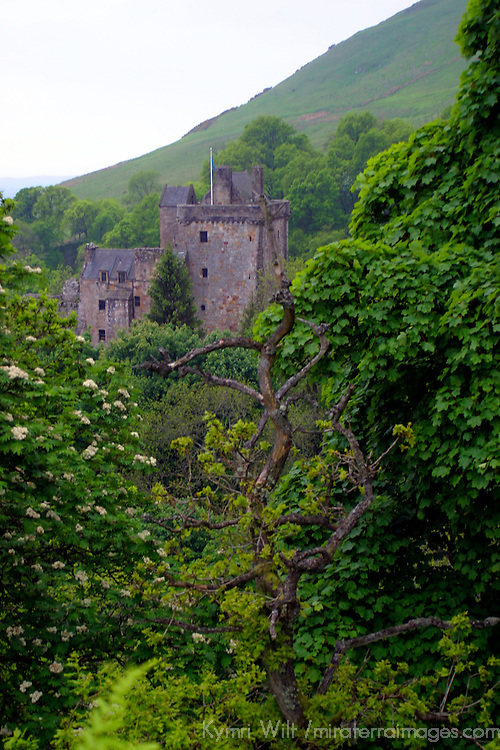 Europe, Great Britain, United Kingdom, Scotland, Campbell Castle.