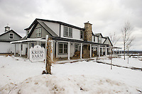 Krebs Farm in Sanbornton offers commanding views of Lake Winnisquam.  (Karen Bobotas/for the Laconia Daily Sun)
