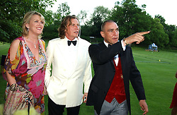 Left to right, LOUSIE FENNELL, THEO FENNELL and VINNIE JONESat the Game Conservancy Jubilee Ball in aid of the Game Conservancy Trust held at The Hurlingham Club, London SW6 on 26th May 2005<br /><br />NON EXCLUSIVE - WORLD RIGHTS