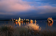 Early Morning Clouds & Light at Mono Lake Eastern Sierra California
