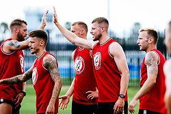 Adam Webster of Bristol City during a head tennis session in the afternoon of day 5 - Rogan/JMP - 15/07/2019 - IMG Academy, Bradenton - Florida, USA - Bristol City Pre-Season Tour Day 5.