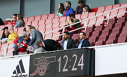 Sami Khedira seen in the stands before kick off - Mandatory by-line: Arron Gent/JMP - 28/07/2019 - FOOTBALL - Emirates Stadium - London, England - Arsenal Women v Bayern Munich Women - Emirates Cup