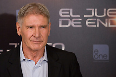 OCT 03 2013 Harrison Ford in Spain