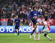 STOCKHOLM, 2017-05-24: Marouane Fellaini under UEFA Europa League Finalen mellan Ajax och Manchester United p&aring; Friends Arena den 24,maj 2017 i Stockholm, Sverige.  Foto: Nils Petter Nilsson/Ombrello<br />***BETALBILD***