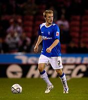 Photo: Jed Wee.<br /> Sheffield United v Birmingham City. Carling Cup. 24/10/2006.<br /> <br /> Birmingham's Sebastian Larsson.