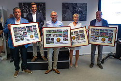 CSIO Participations for Belgium<br /> Philippaerts Ludo, Detry Stefan, Demeersman Dirk, Wauters Yolande, Le Jeune Philippe<br /> Team presentation for WEG Tryon 2018<br /> Zaventem 2018<br /> © Hippo Foto - Dirk Caremans<br /> 22/08/2018
