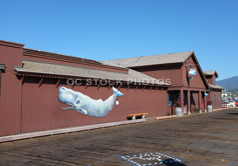 Moby Dick Restaurant on Stearns Wharf in Santa Barbara