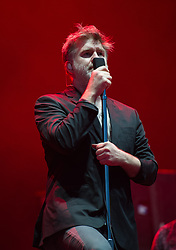 LCD Soundsystem perform on stage on day 1 of All Points East festival in Victoria Park in London, UK. Picture date: Friday 25 May 2018. Photo credit: Katja Ogrin/ EMPICS Entertainment.