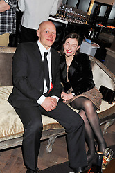 CAMILLA RUTHERFORD and DOMINIC BURNS at the Baileys Spirited Women party at Cafe Royal Hotel, Regent's Street, London on 21st March 2013.