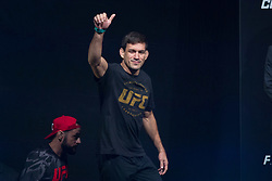 October 27, 2017 - Sao Paulo, Sao Paulo, Brazil - UFC fighter DEMIAN MAIA of Brazil during the weigh-in event prior to the UFC Fight Night Sao Paulo, at the Ibirapuera Gymnasium in Sao Paulo Brazil. (Credit Image: © Paulo Lopes via ZUMA Wire)