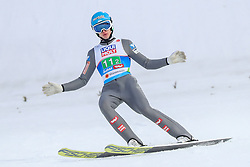02.03.2019, Seefeld, AUT, FIS Weltmeisterschaften Ski Nordisch, Seefeld 2019, Skisprung, Mixed Team Bewerb, im Bild Philipp Aschenwald (AUT) // Philipp Aschenwald of Austria during the mixed team competition in ski jumping of nordic combination of FIS Nordic Ski World Championships 2019. Seefeld, Austria on 2019/03/02. EXPA Pictures © 2019, PhotoCredit: EXPA/ JFK