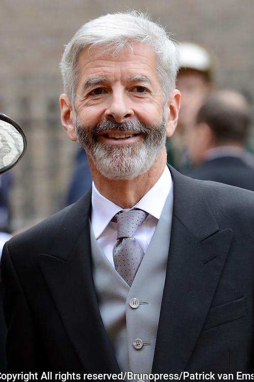 Prinsjesdag 2013 - Aankomst Parlementari&euml;rs bij de Ridderzaal op het Binnenhof.<br /> <br /> Op de foto:  Ronald Plasterk - Minister van Binnenlandse Zaken en Koninkrijksrelaties