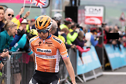Megan Guarnier (USA) wins ASDA Tour de Yorkshire Women's Race 2018 - Stage 2, a 124 km road race from Barnsley to Ilkley on May 4, 2018. Photo by Thomas Maheux/Velofocus.com