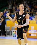 DESCRIZIONE : Lubiana Ljubliana Slovenia Eurobasket Men 2013 Preliminary Round Francia Germania France Germany<br /> GIOCATORE : Robin Benzing<br /> CATEGORIA : esultanza jubilation<br /> SQUADRA : Germany Germania<br /> EVENTO : Eurobasket Men 2013<br /> GARA : Francia Germania France Germany<br /> DATA : 04/09/2013 <br /> SPORT : Pallacanestro <br /> AUTORE : Agenzia Ciamillo-Castoria/T.Wiedensohler<br /> Galleria : Eurobasket Men 2013<br /> Fotonotizia : Lubiana Ljubliana Slovenia Eurobasket Men 2013 Preliminary Round Francia Germania France Germany<br /> Predefinita :