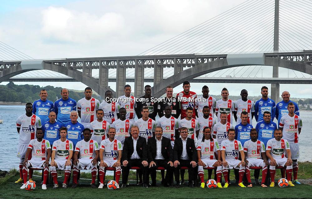 Equipe BREST - 18.09.2013 - Photo Officielle - Brest -<br /> Photo : Patrick Tellier / Icon Sport