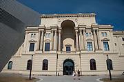 Militärhistorisches Museum (umgebaut von Liebeskind), Neustadt, Dresden, Sachsen, Deutschland | Military Museum (rebuilt by Liebeskind), Neustadt, Dresden, Saxony, Germany,