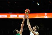 DESCRIZIONE : Kaunas Lithuania Lituania Eurobasket Men 2011 Quarter Final Round Spagna Slovenia Spain Slovenia<br /> GIOCATORE : Pau Gasol<br /> CATEGORIA : palla a due<br /> SQUADRA : Spagna Spain <br /> EVENTO : Eurobasket Men 2011<br /> GARA : Spagna Slovenia Spain Slovenia<br /> DATA : 14/09/2011<br /> SPORT : Pallacanestro <br /> AUTORE : Agenzia Ciamillo-Castoria/G.Matthaios<br /> Galleria : Eurobasket Men 2011<br /> Fotonotizia : Kaunas Lithuania Lituania Eurobasket Men 2011 Quarter Final Round Spagna Slovenia Spain Slovenia<br /> Predefinita :