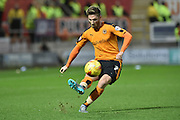 Wolverhampton Wanderers midfielder James Henry  during the Sky Bet Championship match between Rotherham United and Wolverhampton Wanderers at the New York Stadium, Rotherham, England on 5 December 2015. Photo by Ian Lyall.
