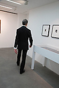 DAVID CROLAND, Fashion Show: Robert Mapplethorpe. Alison Jacques Gallery. Berners St. London. 10 September 2013