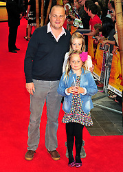 © licensed to London News Pictures. LONDON UK  05/06/11.Al Murray attends the premiere of Kung Fu Panda 2 at Westfield shopping center London. Please see special instructions for usage rates. Photo credit should read ALAN ROXBOROUGH/LNP