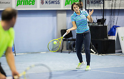 Andreja Klepac at Istenic doubles Tournament and Slovenian Tennis personality of the year 2015 annual awards presented by Slovene Tennis Association TZS, on December 12, 2015 in Millenium Centre, BTC, Ljubljana, Slovenia. Photo by Vid Ponikvar / Sportida