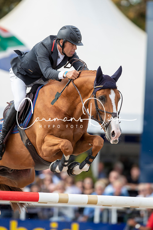 Van Asten Mathijs, NED, Hotspot<br /> FEI WBFSH Jumping World Breeding Championship for Young Horses<br /> Lanaken 2019<br /> © Hippo Foto - Dirk Caremans<br />  22/09/2019