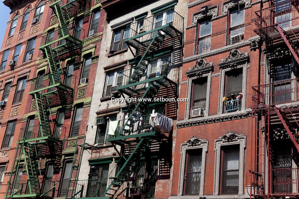 New York OLITA trendy area New York - United states  /  Quartier branche NOLITA  New York - Etats-unis
