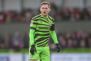 Forest Green Rovers George Williams(11) during the EFL Sky Bet League 2 match between Forest Green Rovers and Walsall at the New Lawn, Forest Green, United Kingdom on 8 February 2020.