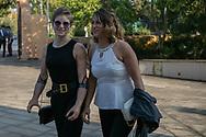 L'arrivo della campionessa olimpionica Bebe Vio a Palermo.