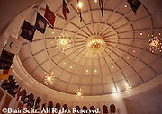 Hershey, PA, Milton Hershey School, Founder's Hall Dome Interior
