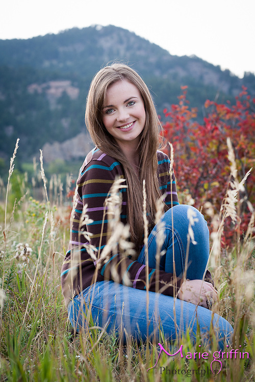 Grace McTigue Niwot Senior High School Portraits BY: Marie Griffin Photography