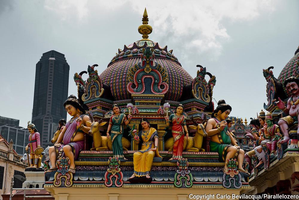 Singapore - A temple.