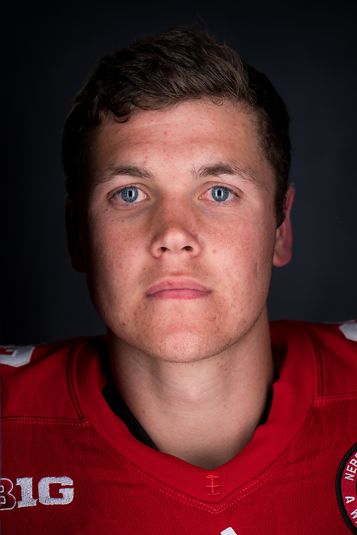 during a portrait session at Memorial Stadium in Lincoln, Neb. on June 6, 2017. Photo by Paul Bellinger, Hail Varsity